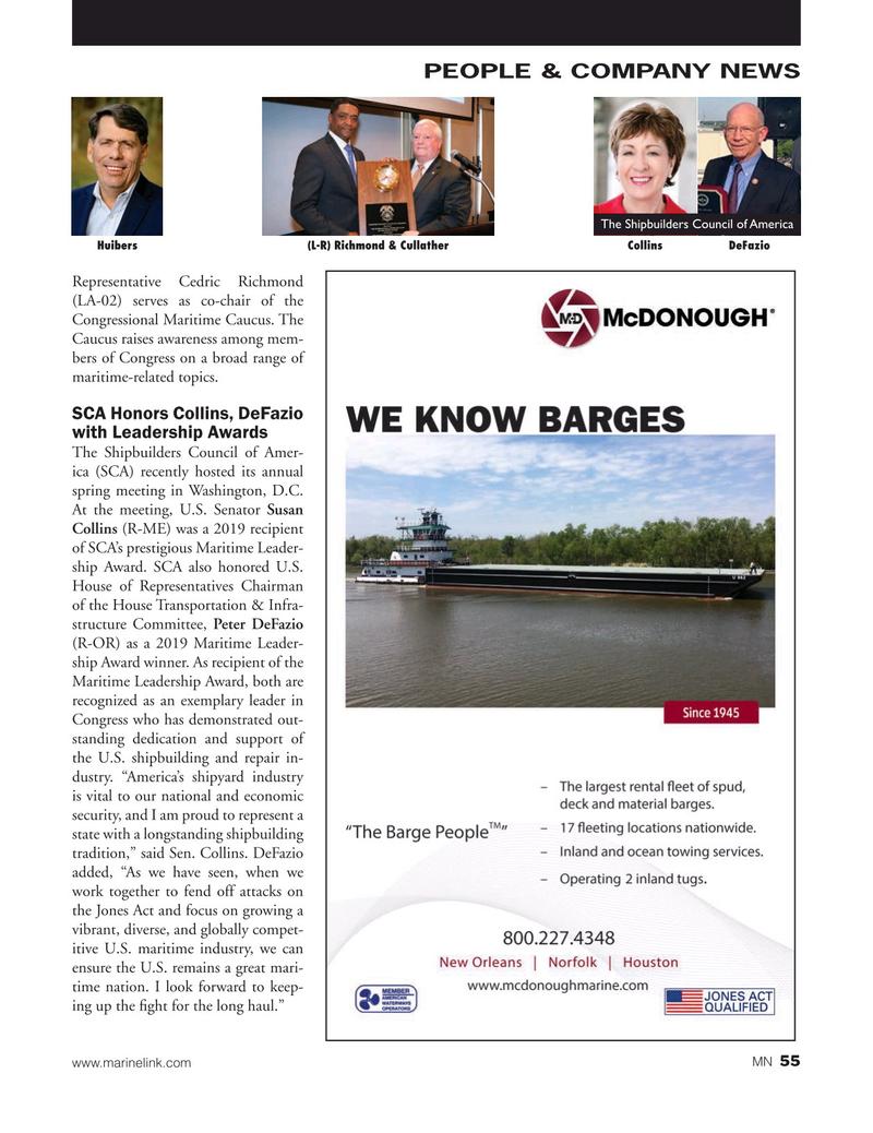 Marine News Magazine, page 55,  Jul 2019