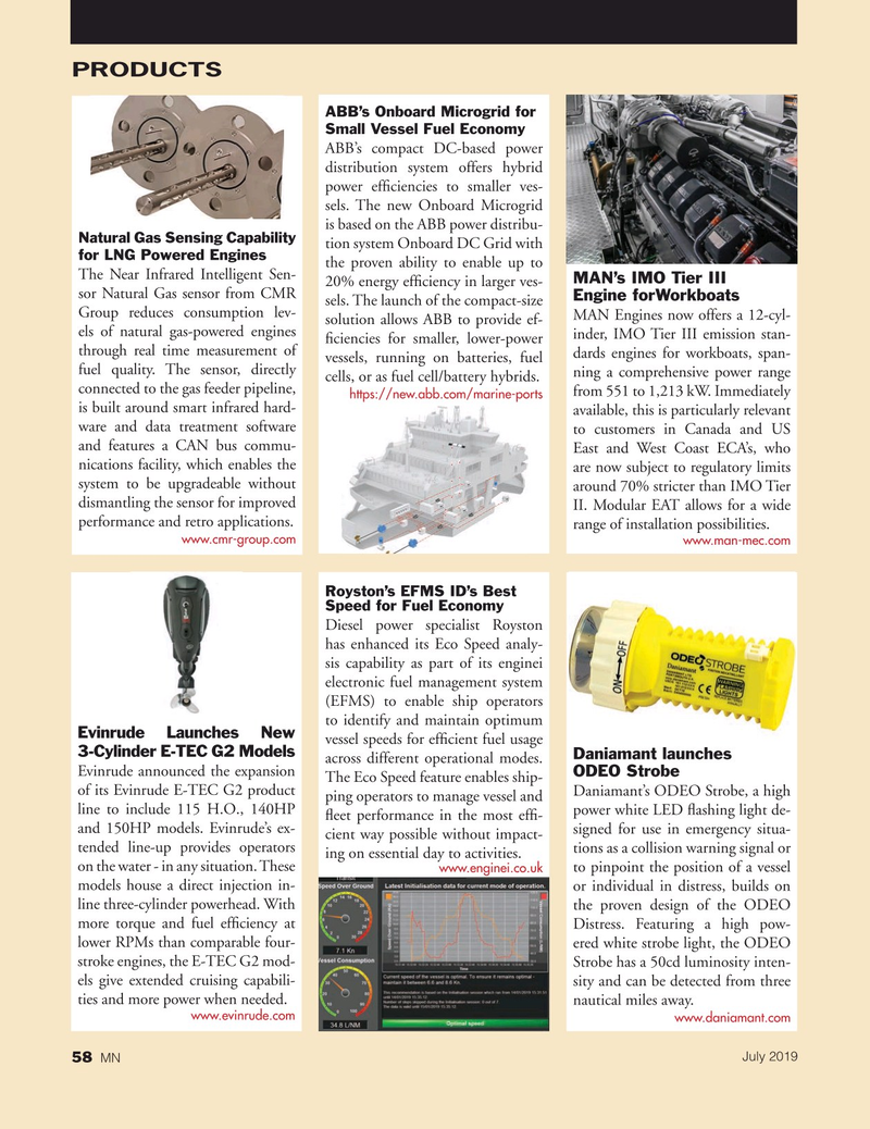 Marine News Magazine, page 58,  Jul 2019