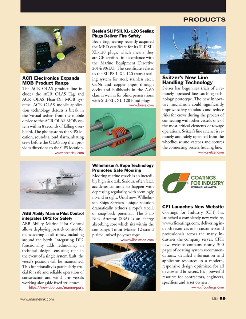 Marine News Magazine, page 59,  Jul 2019