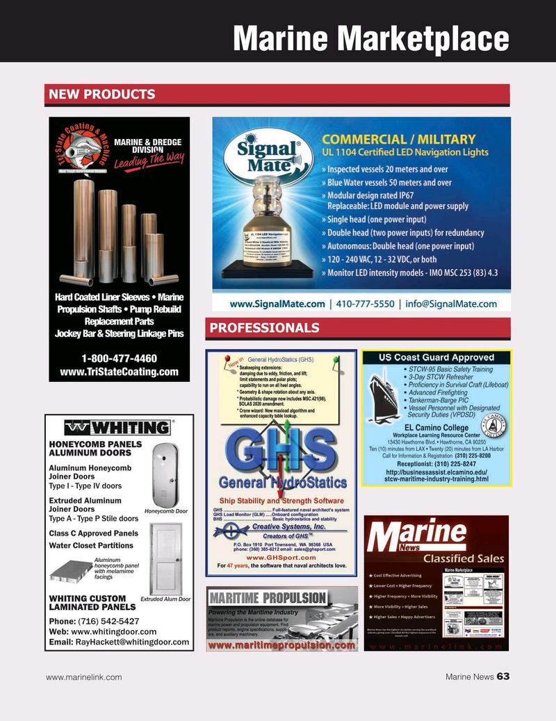 Marine News Magazine, page 63,  Jul 2019