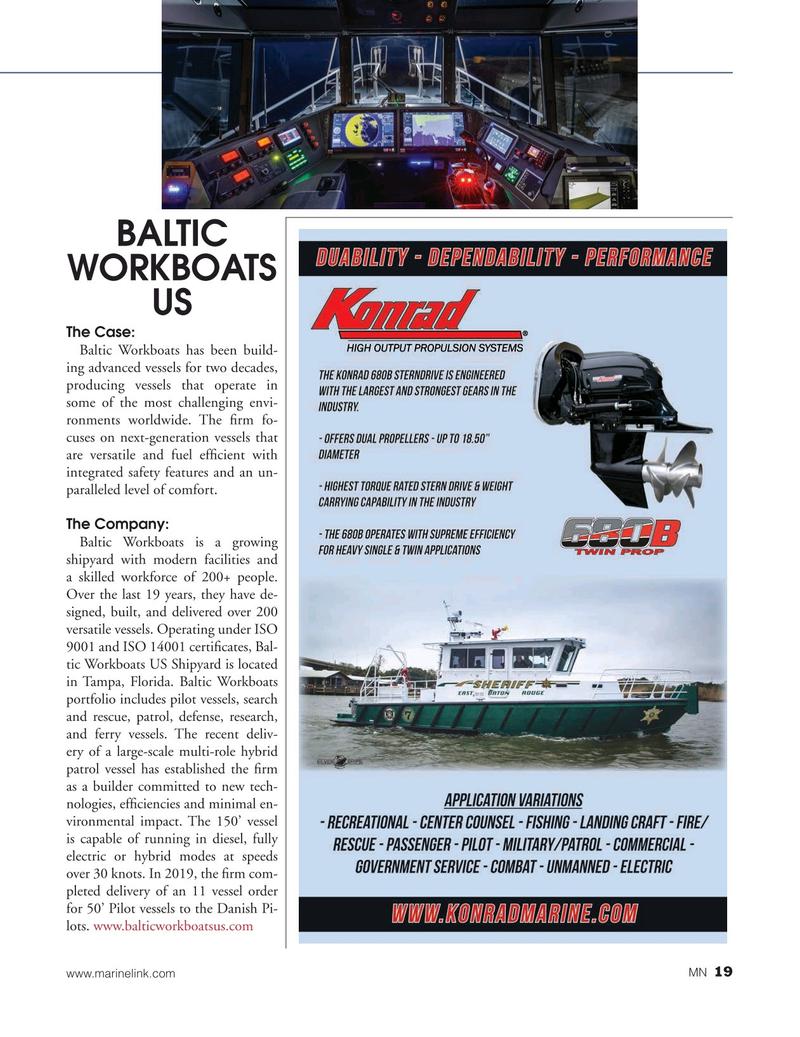 Marine News Magazine, page 19,  Aug 2019