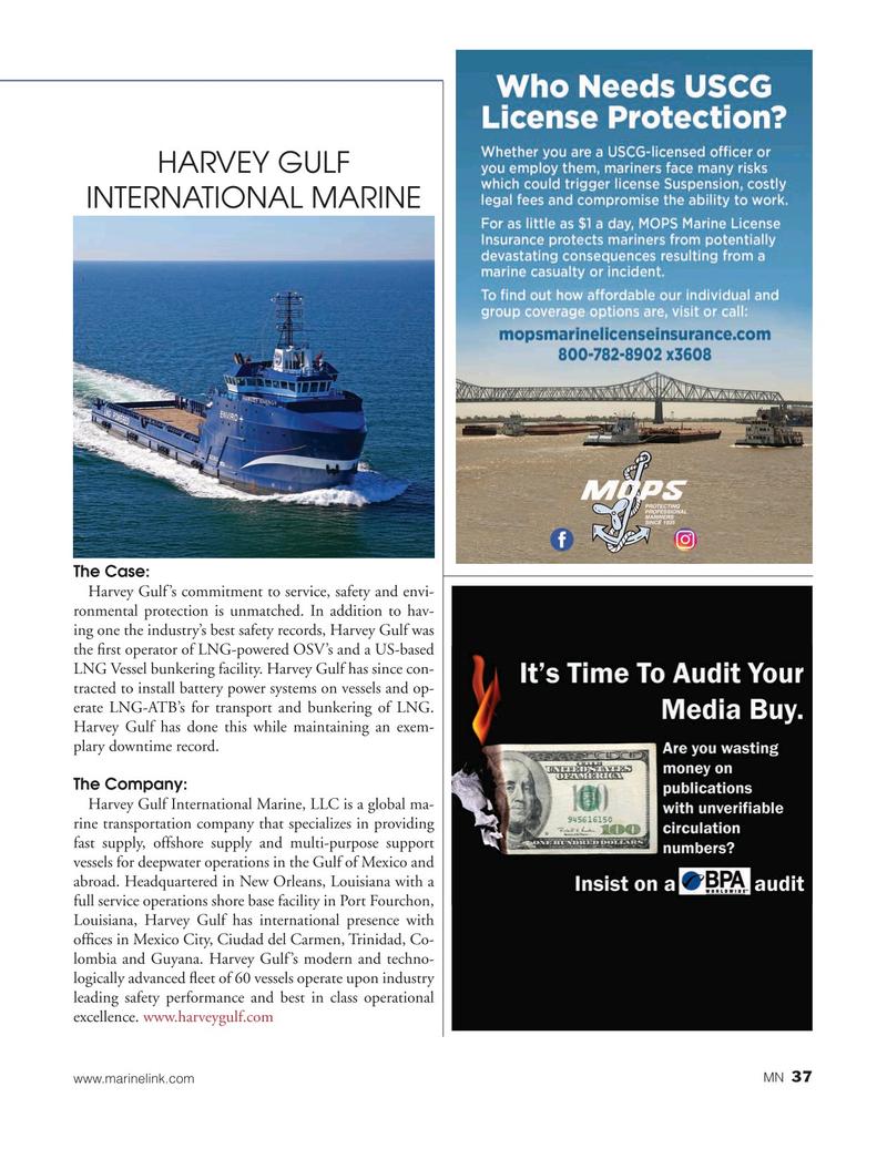 Marine News Magazine, page 37,  Aug 2019