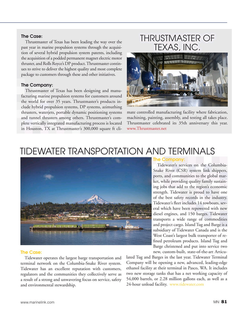 Marine News Magazine, page 81,  Aug 2019