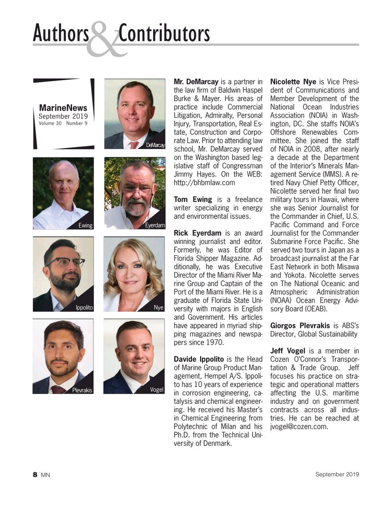 Marine News Magazine, page 8,  Sep 2019