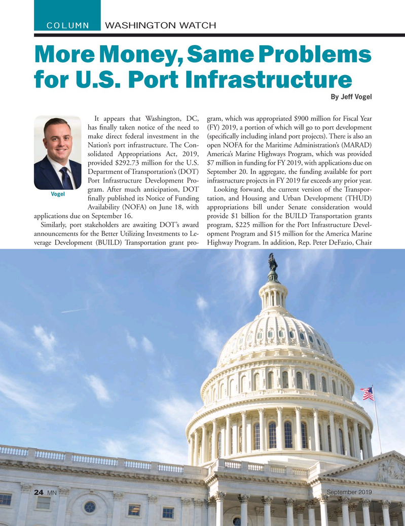 Marine News Magazine, page 24,  Sep 2019