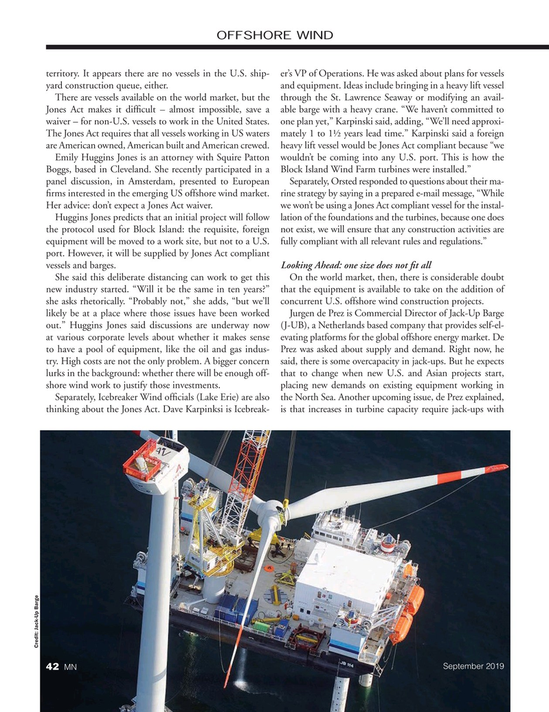 Marine News Magazine, page 42,  Sep 2019