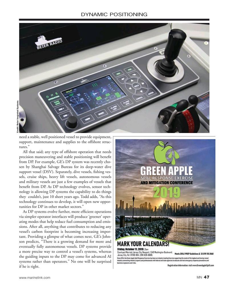 Marine News Magazine, page 47,  Sep 2019