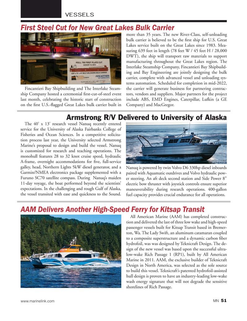 Marine News Magazine, page 51,  Sep 2019