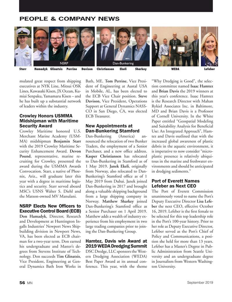 Marine News Magazine, page 56,  Sep 2019