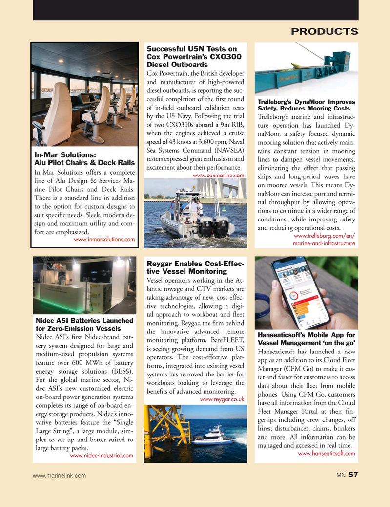 Marine News Magazine, page 57,  Sep 2019