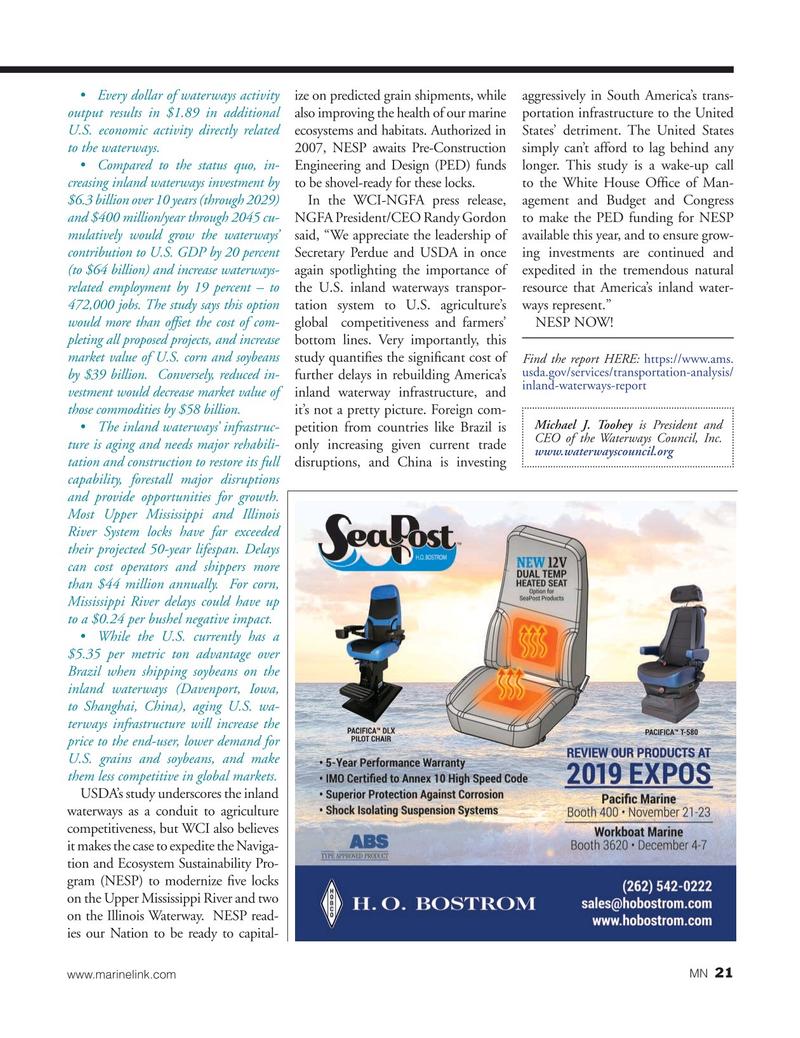 Marine News Magazine, page 21,  Oct 2019