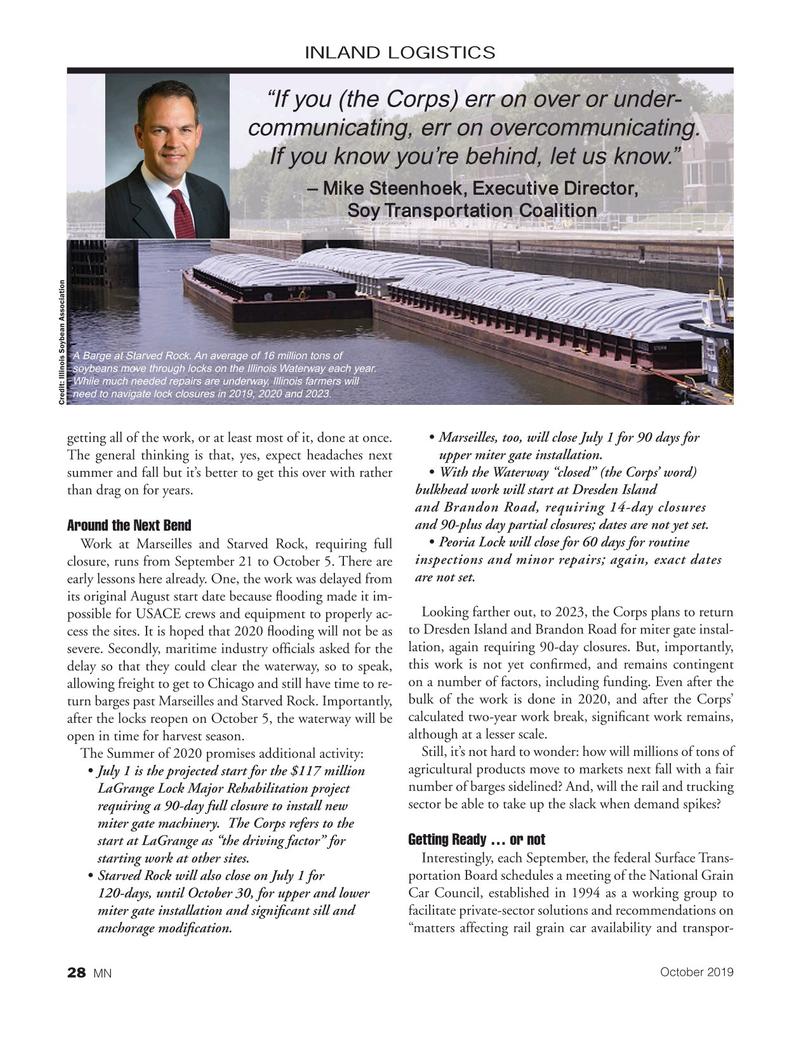 Marine News Magazine, page 28,  Oct 2019