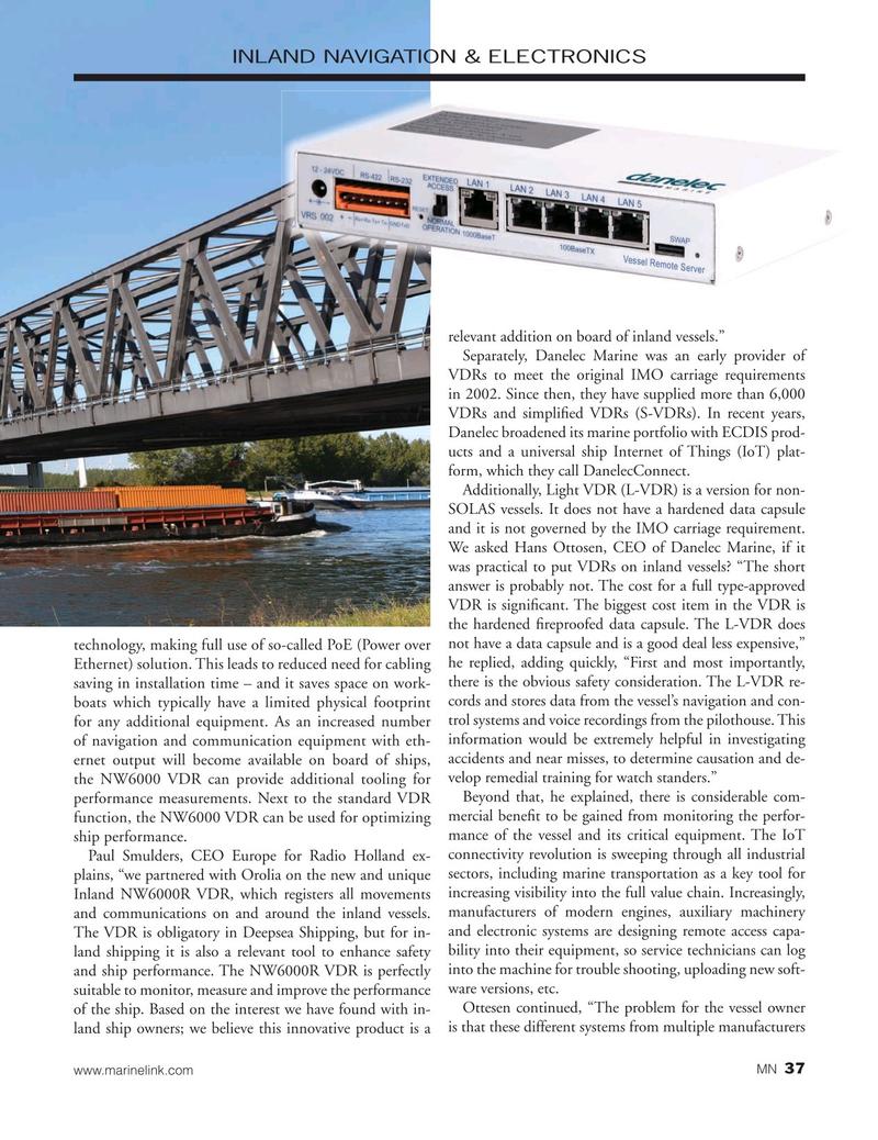 Marine News Magazine, page 37,  Oct 2019