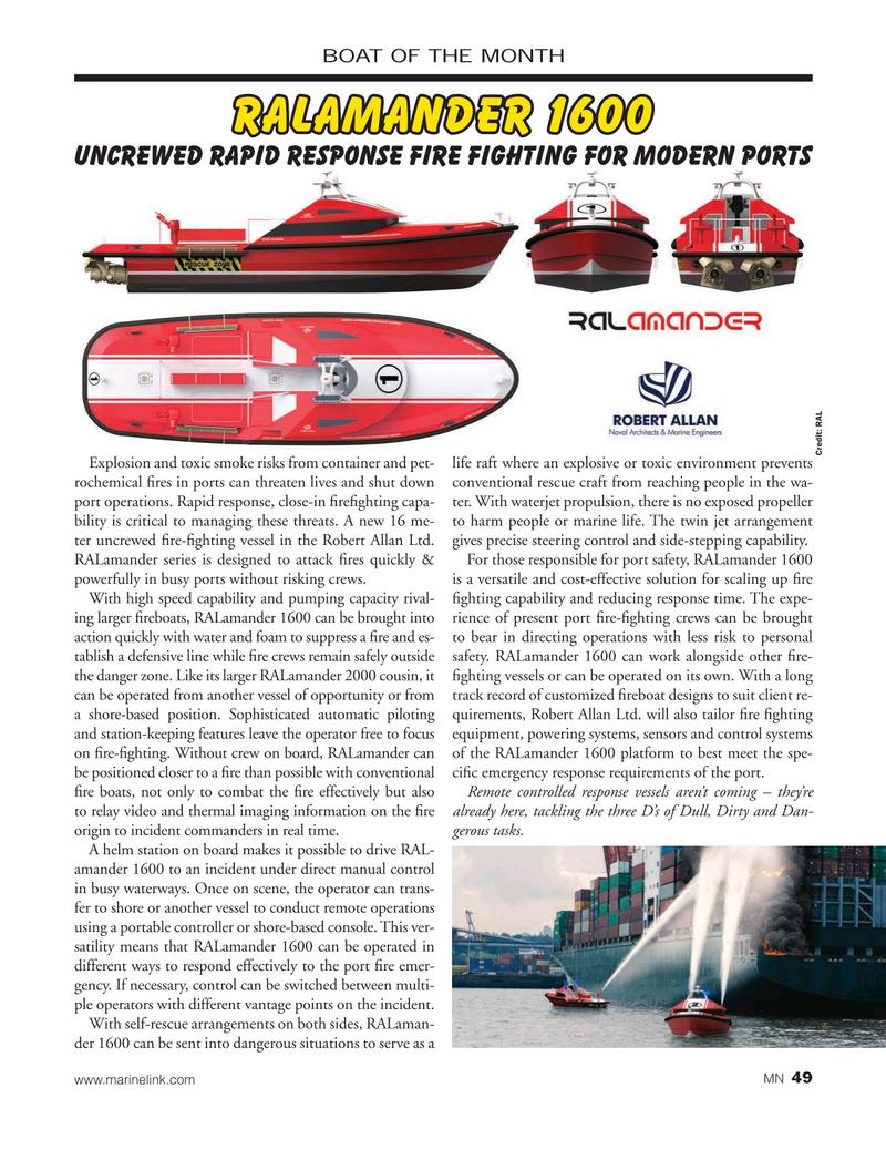 Marine News Magazine, page 49,  Oct 2019