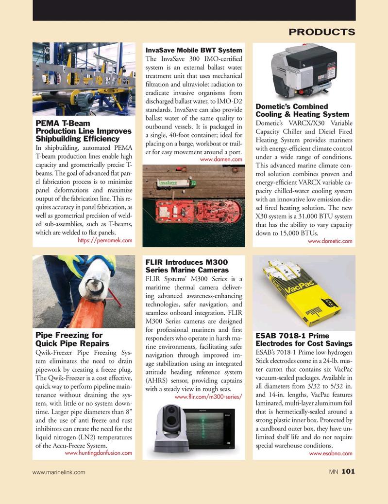 Marine News Magazine, page 101,  Nov 2019