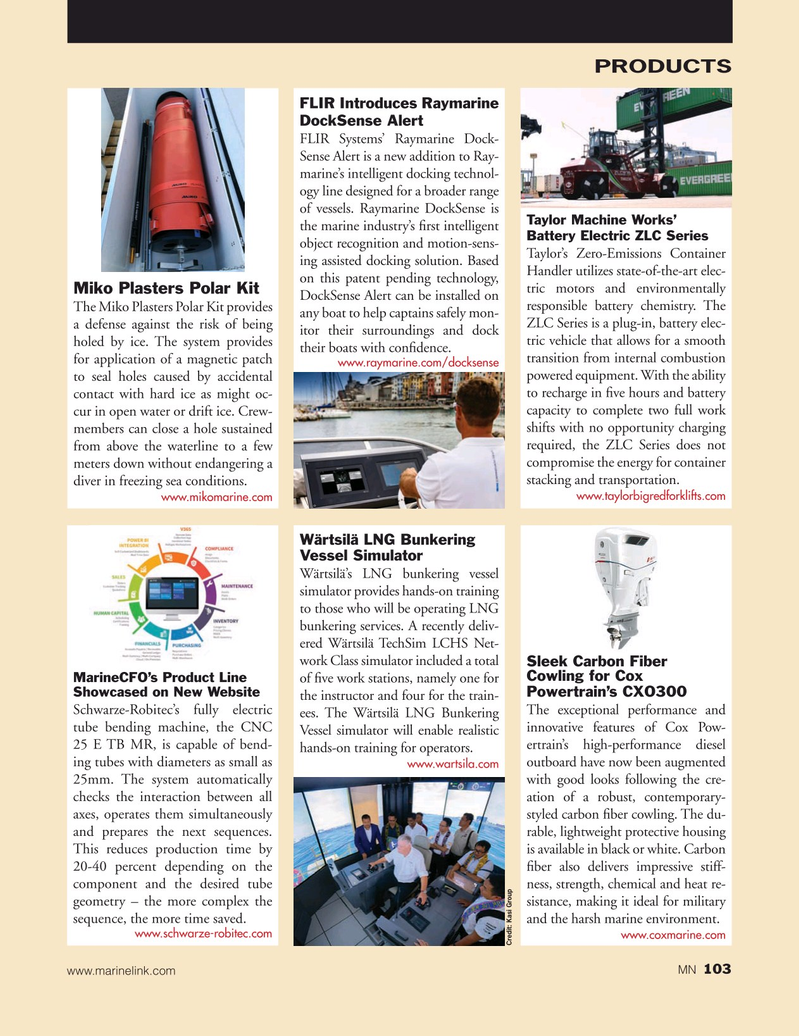 Marine News Magazine, page 103,  Nov 2019