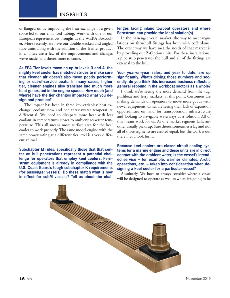 Marine News Magazine, page 16,  Nov 2019