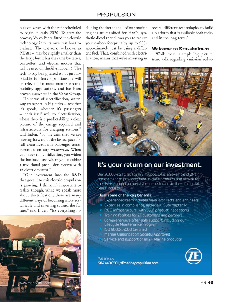 Marine News Magazine, page 49,  Nov 2019