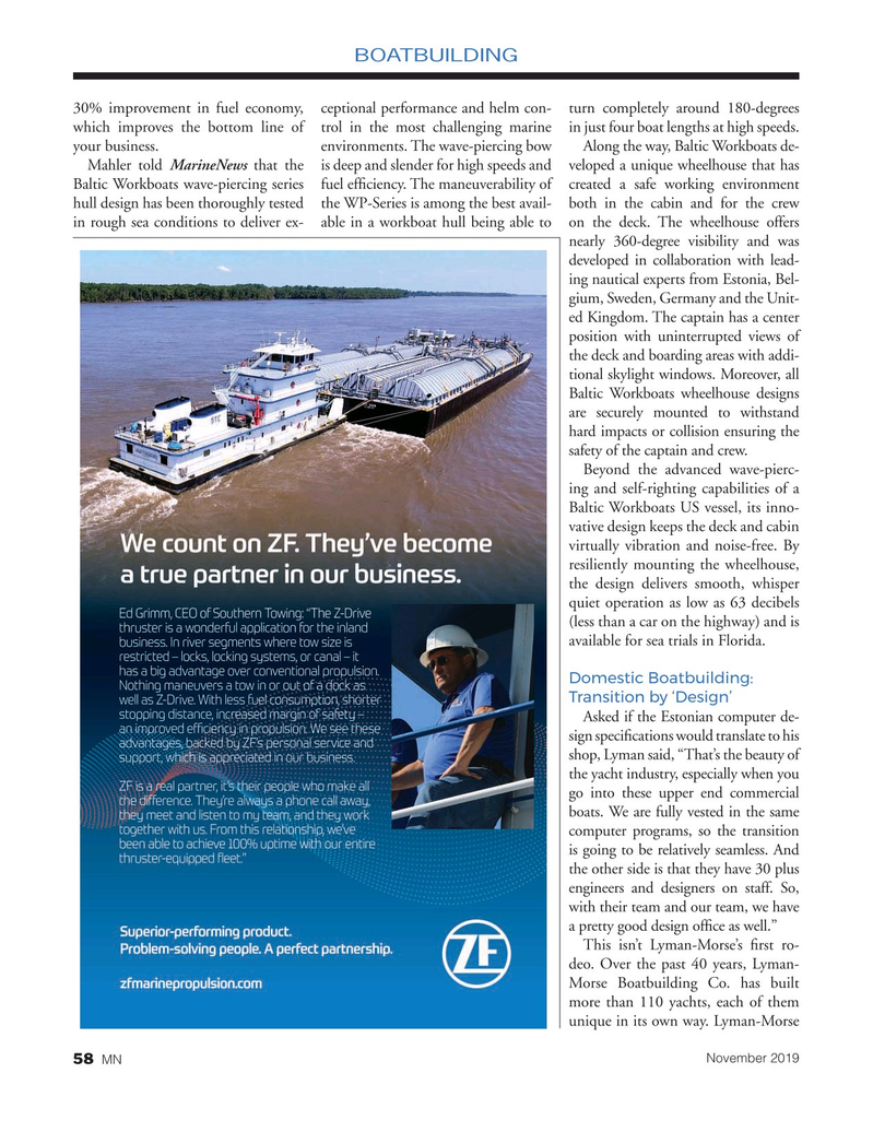 Marine News Magazine, page 58,  Nov 2019