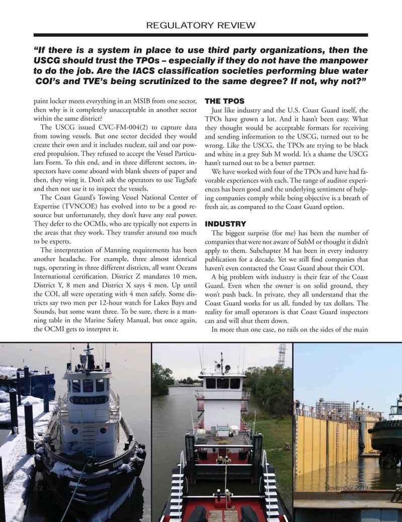 Marine News Magazine, page 62,  Nov 2019
