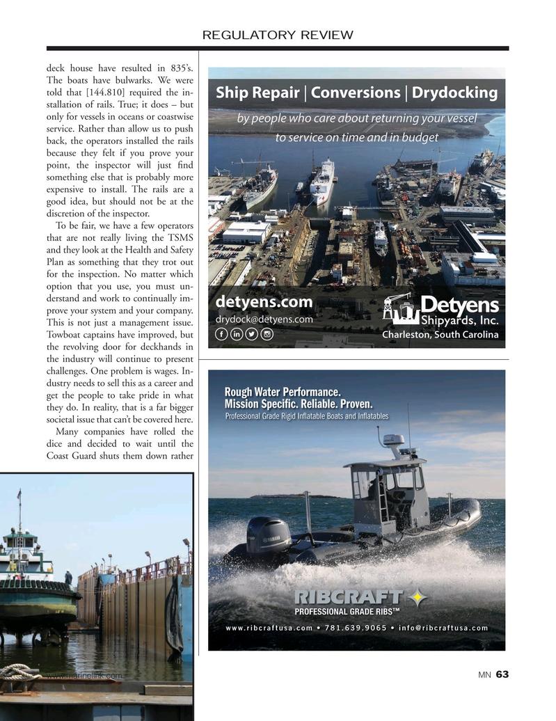 Marine News Magazine, page 63,  Nov 2019