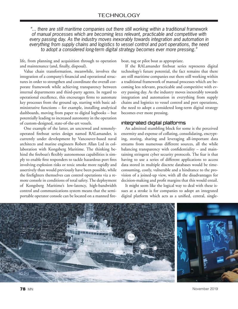Marine News Magazine, page 78,  Nov 2019