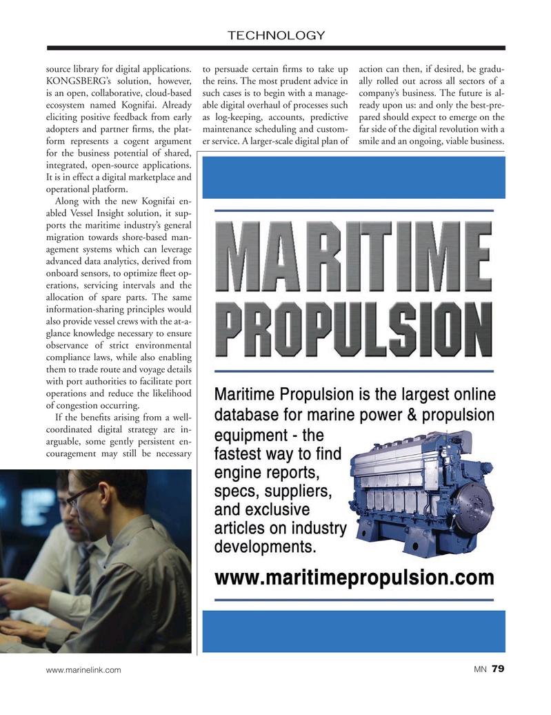 Marine News Magazine, page 79,  Nov 2019