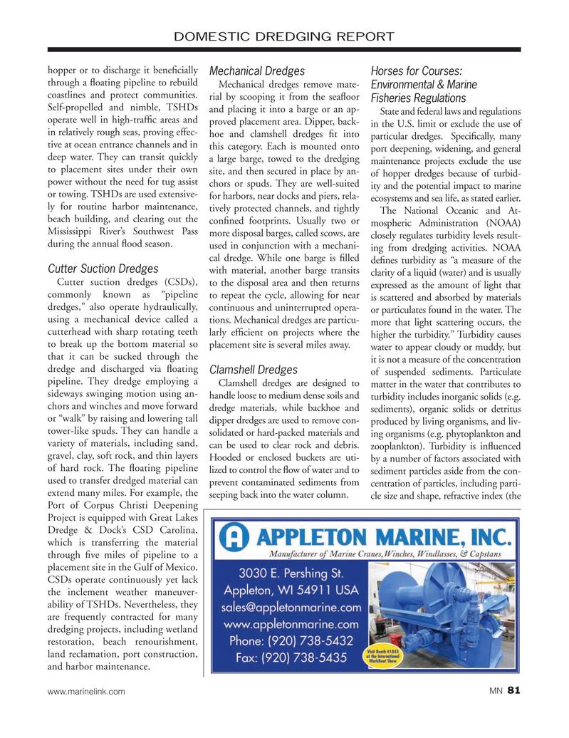 Marine News Magazine, page 81,  Nov 2019