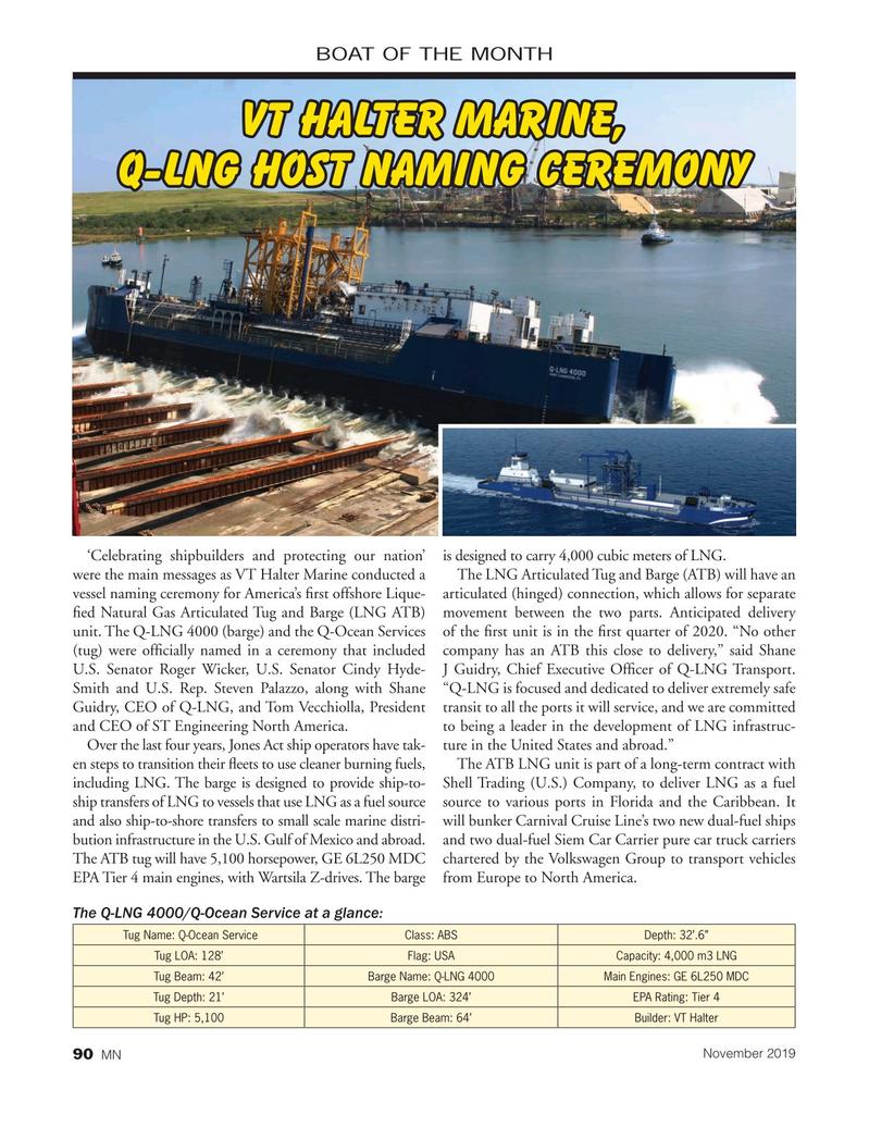 Marine News Magazine, page 90,  Nov 2019