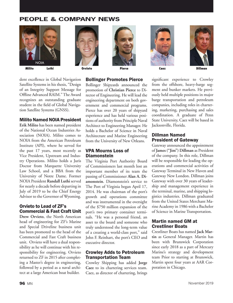 Marine News Magazine, page 96,  Nov 2019
