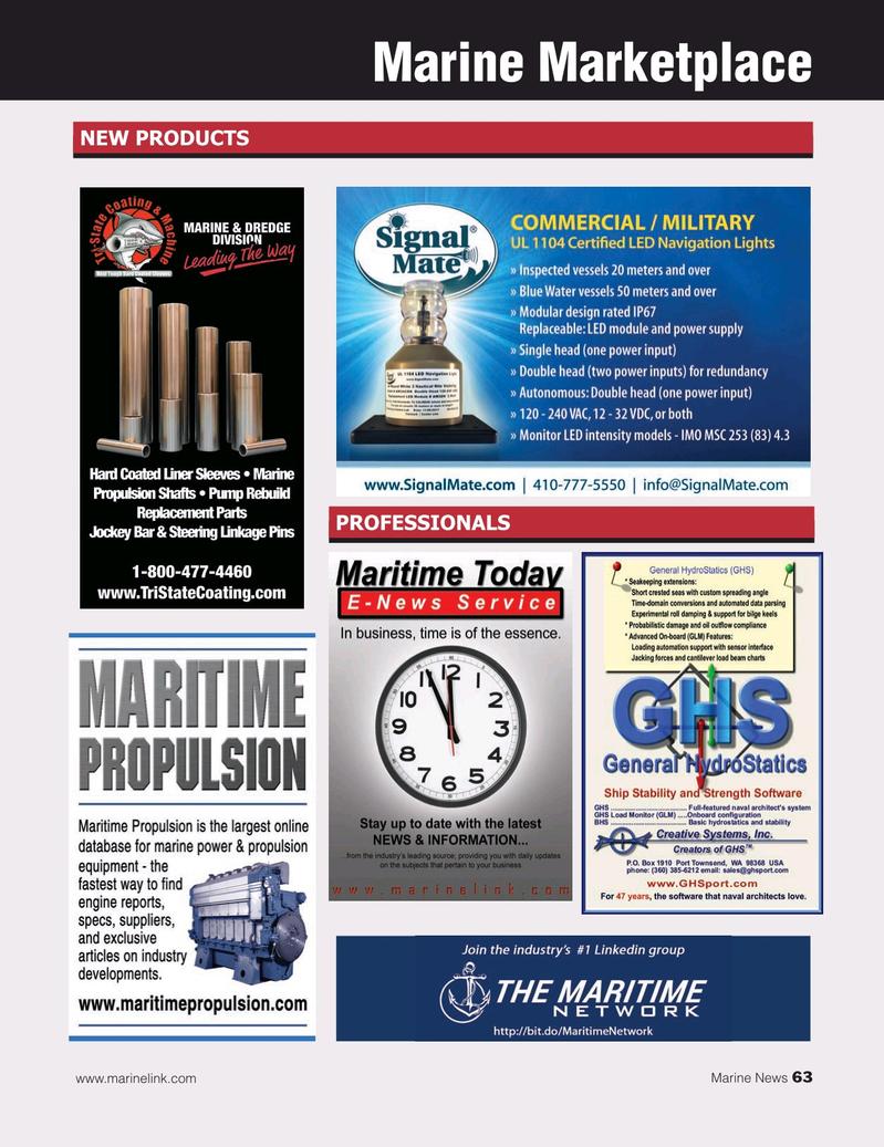 Marine News Magazine, page 63,  Dec 2019