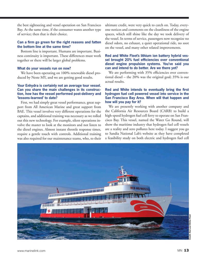 Marine News Magazine, page 13,  Jan 2020
