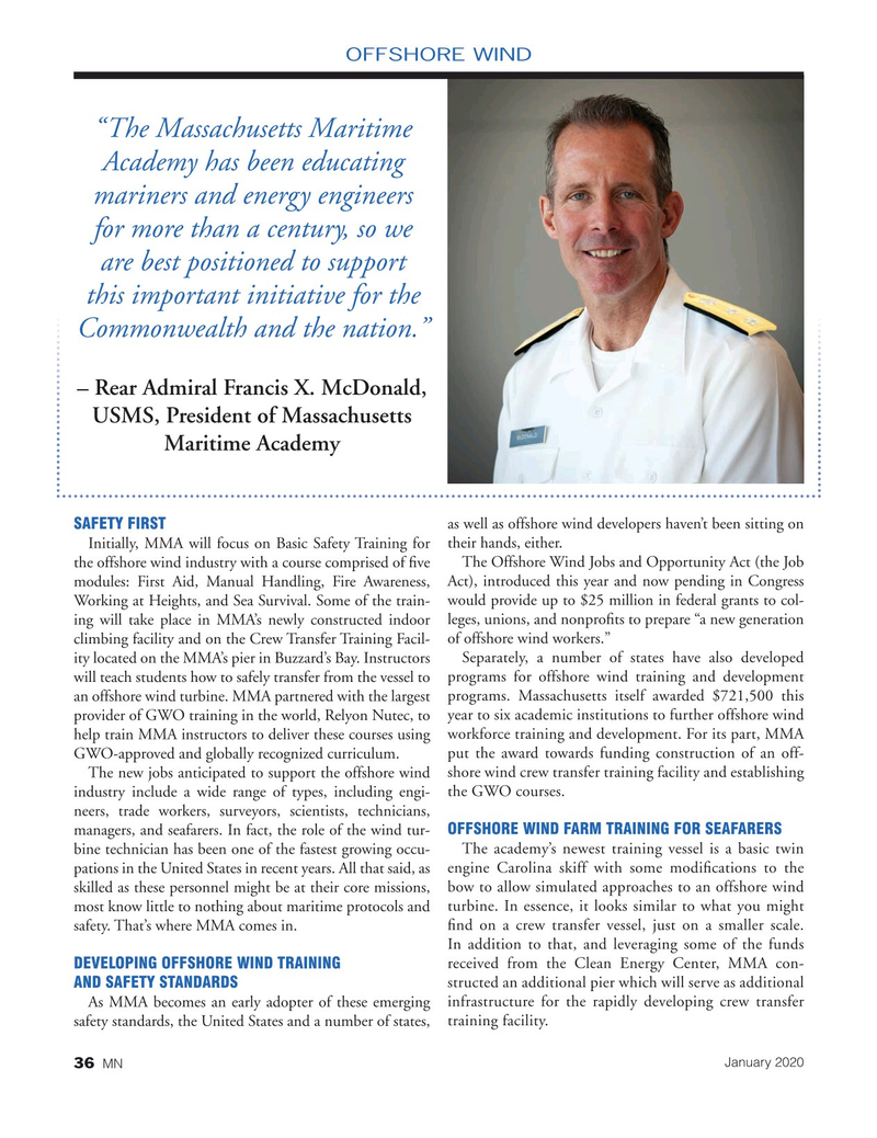 Marine News Magazine, page 36,  Jan 2020