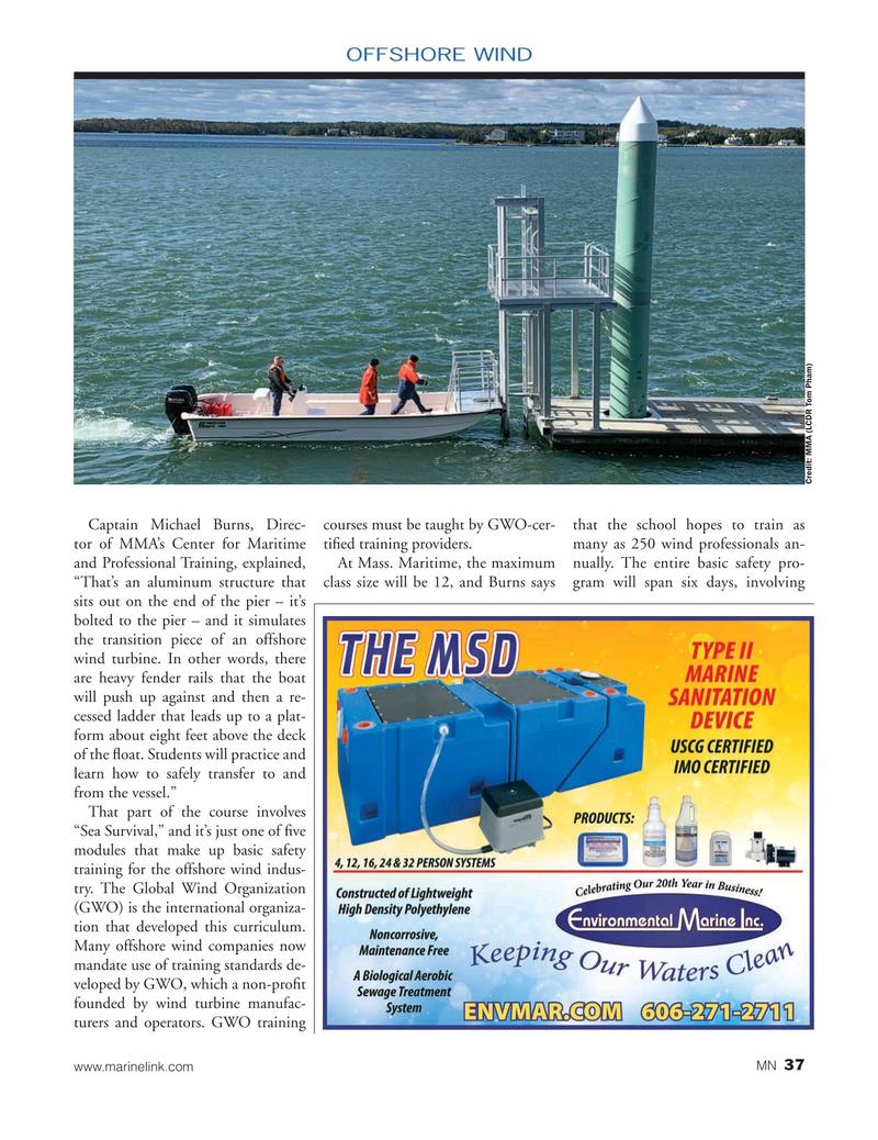 Marine News Magazine, page 37,  Jan 2020