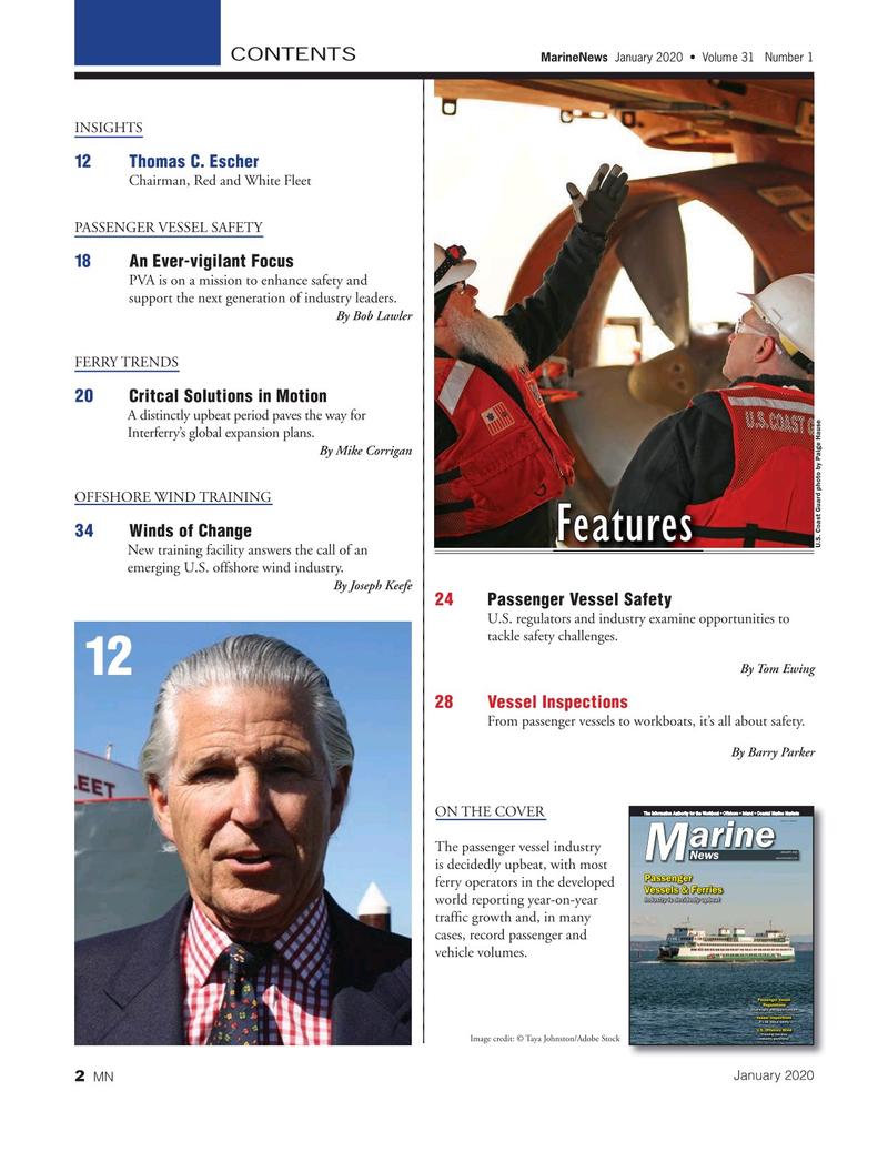 Marine News Magazine, page 2,  Jan 2020