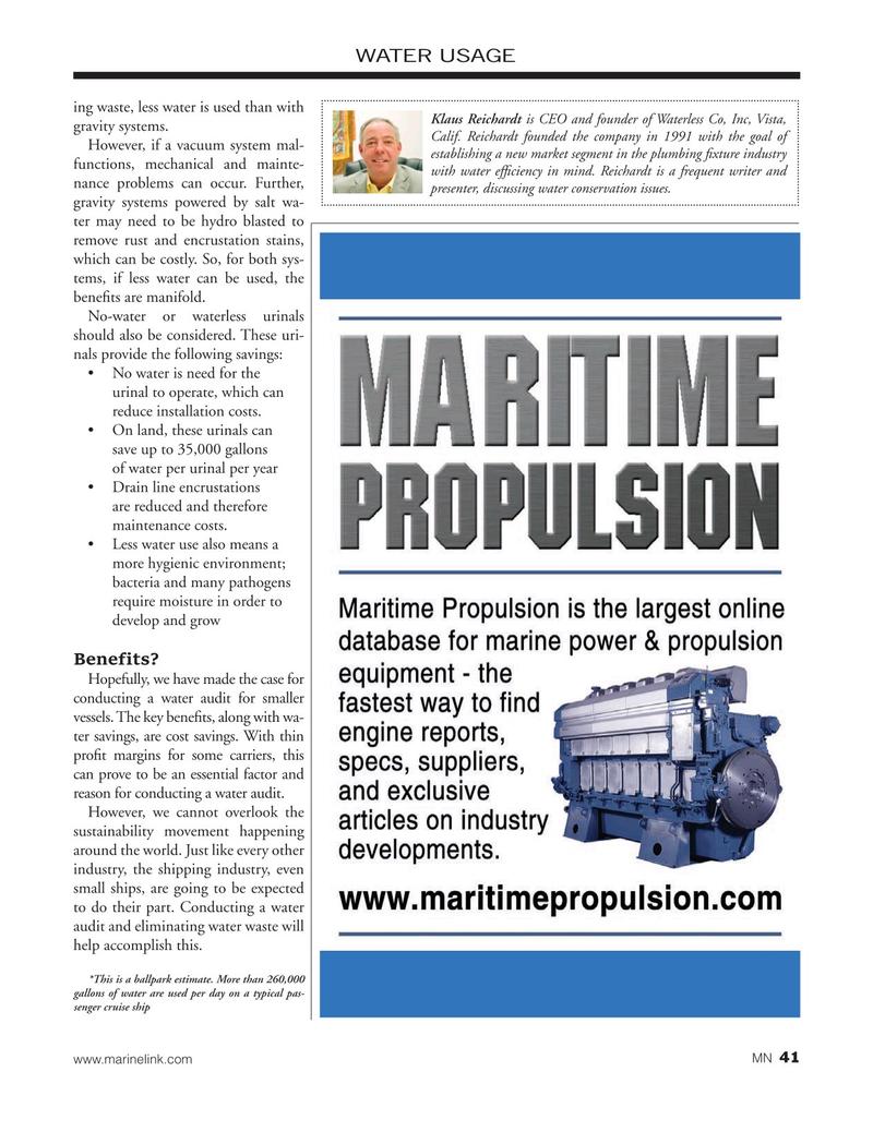 Marine News Magazine, page 41,  Jan 2020
