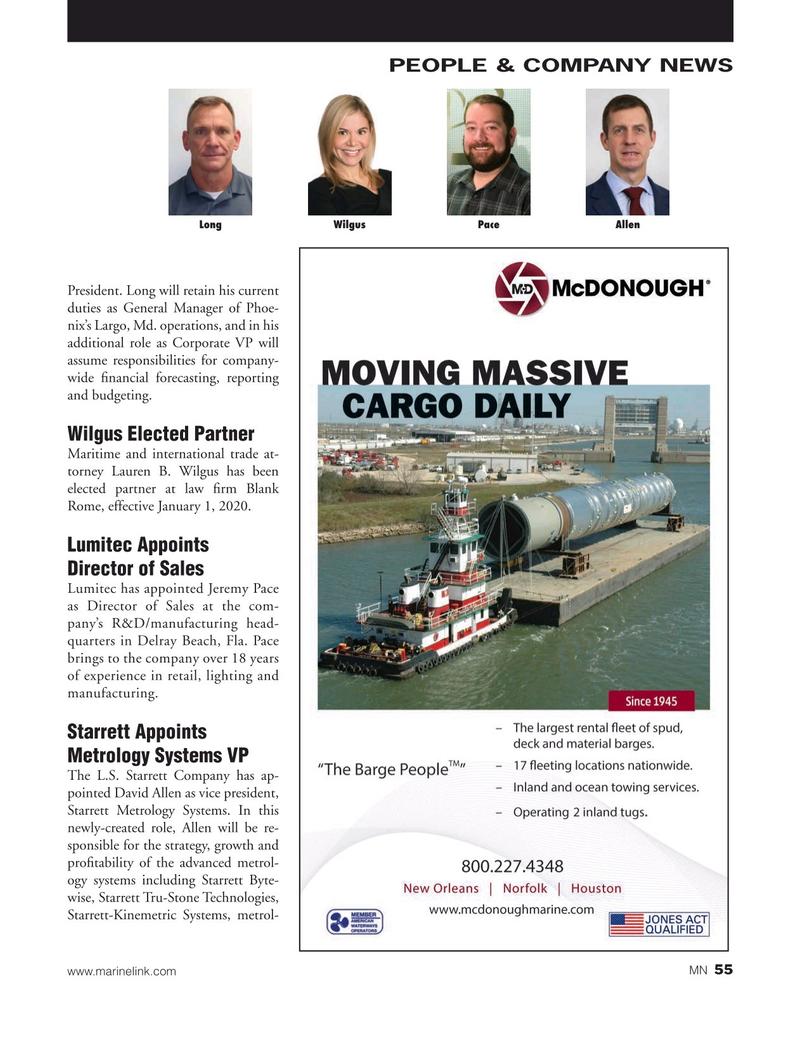 Marine News Magazine, page 55,  Jan 2020