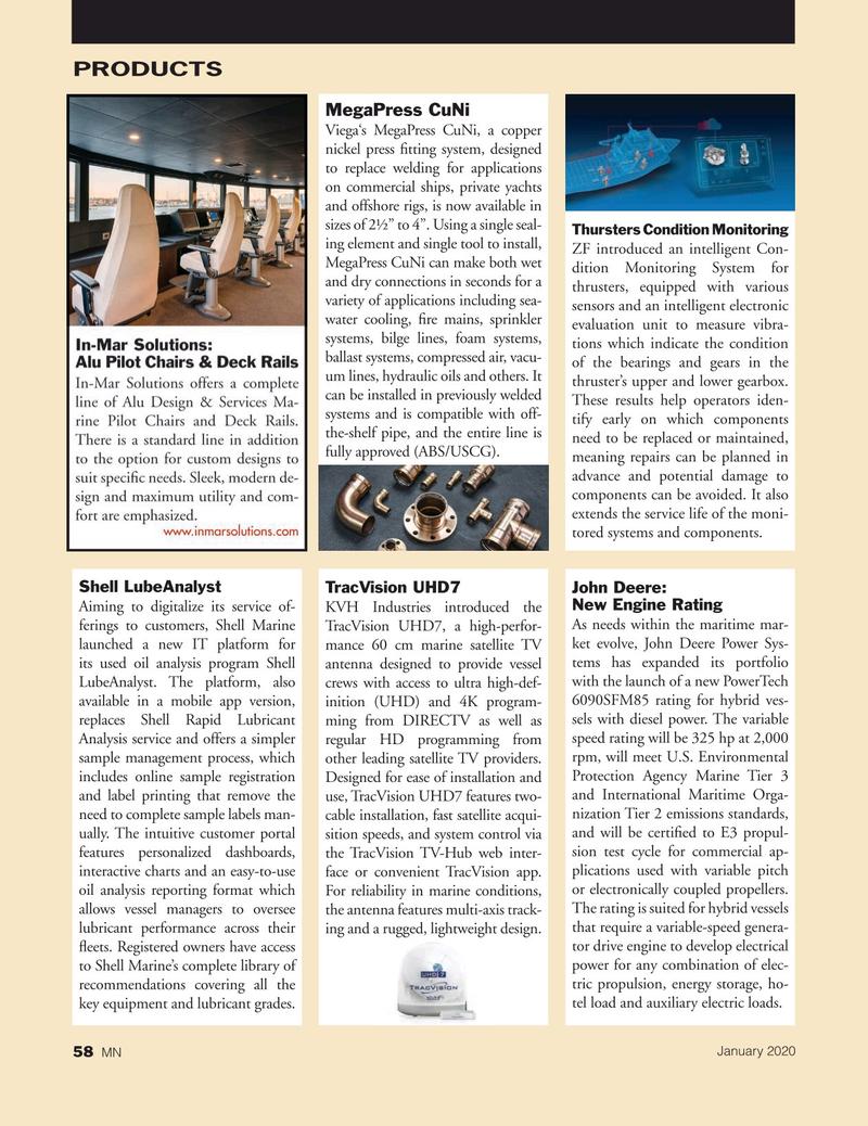 Marine News Magazine, page 58,  Jan 2020