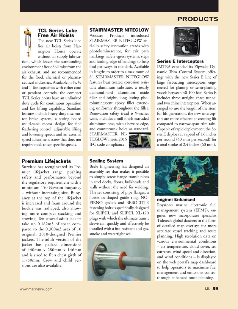Marine News Magazine, page 59,  Jan 2020