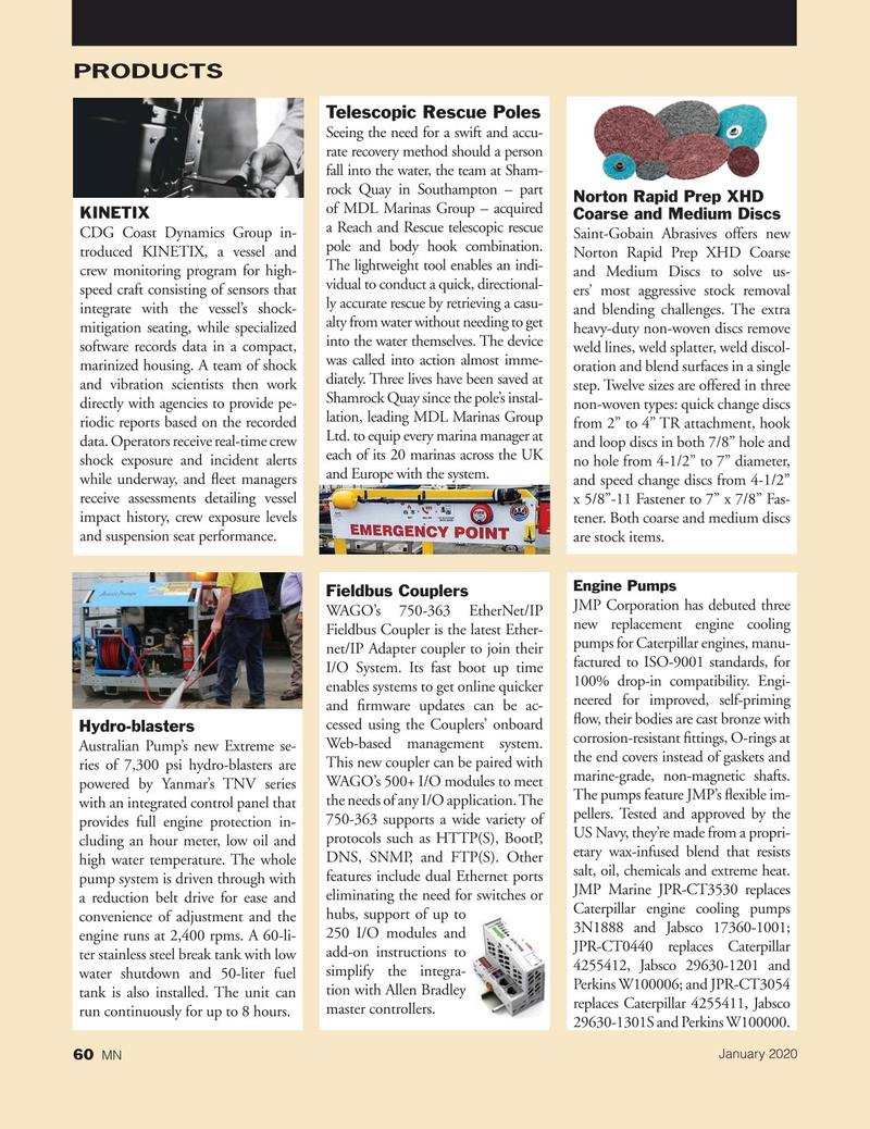 Marine News Magazine, page 60,  Jan 2020