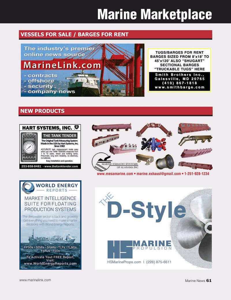 Marine News Magazine, page 61,  Jan 2020