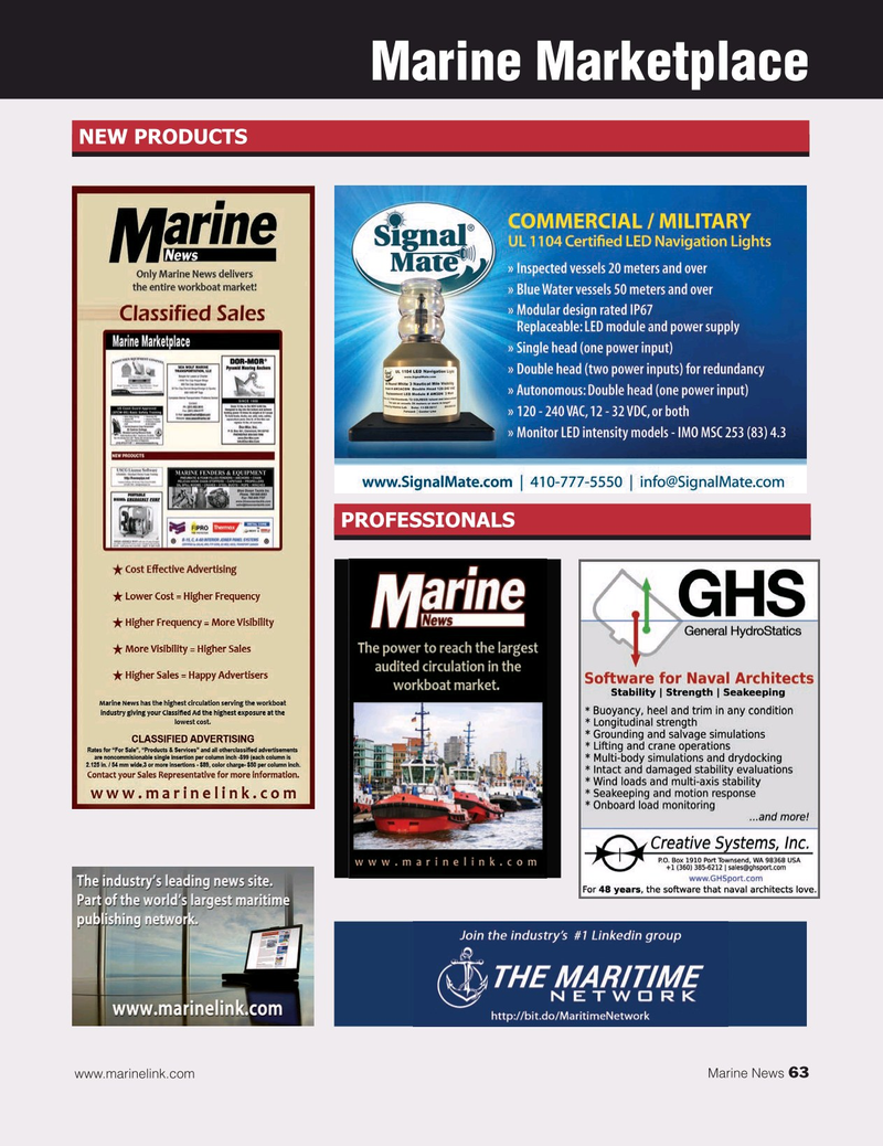 Marine News Magazine, page 63,  Jan 2020