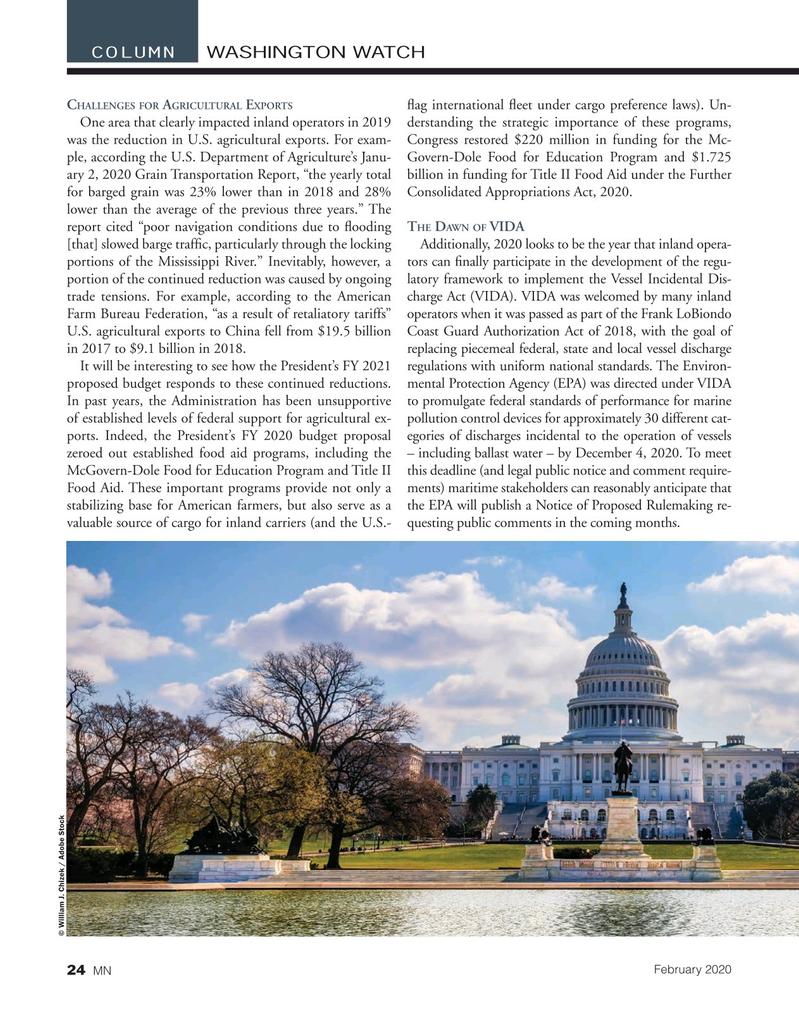 Marine News Magazine, page 24,  Feb 2020