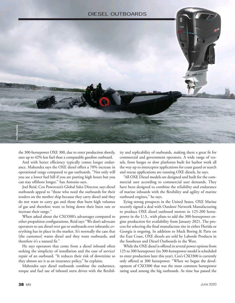 Marine News Magazine, page 38,  Jun 2020