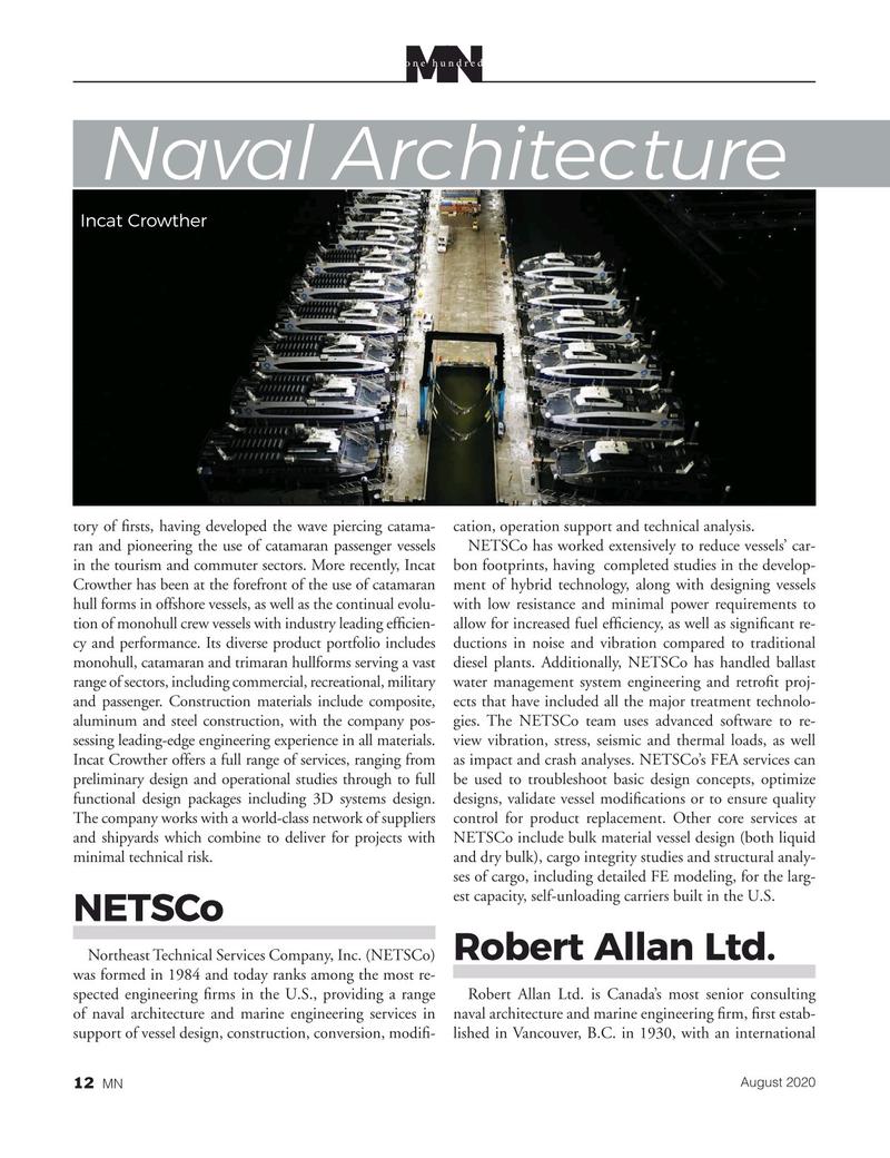 Marine News Magazine, page 12,  Aug 2020