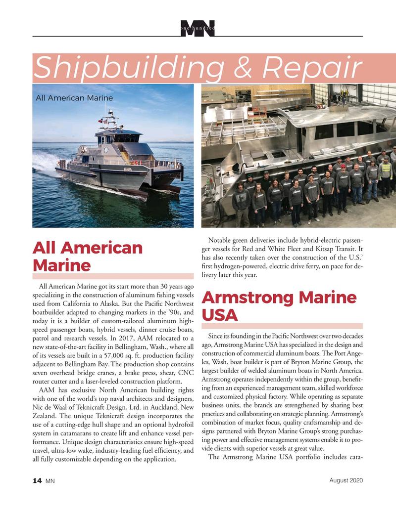 Marine News Magazine, page 14,  Aug 2020
