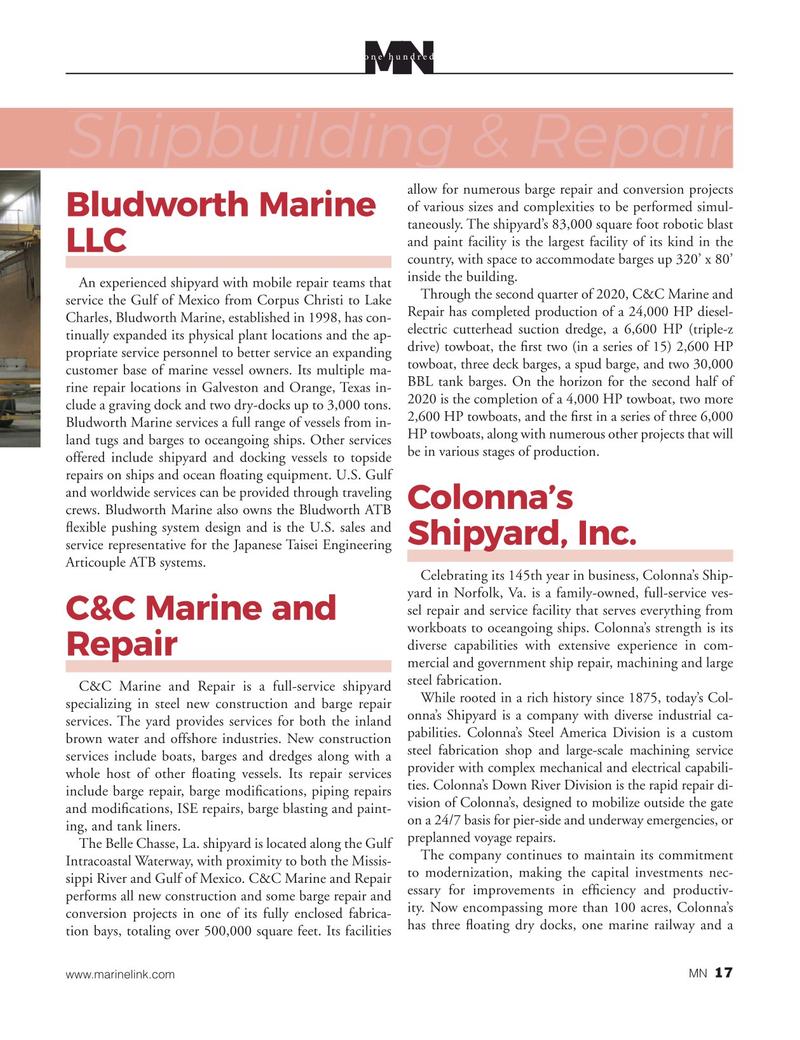 Marine News Magazine, page 17,  Aug 2020