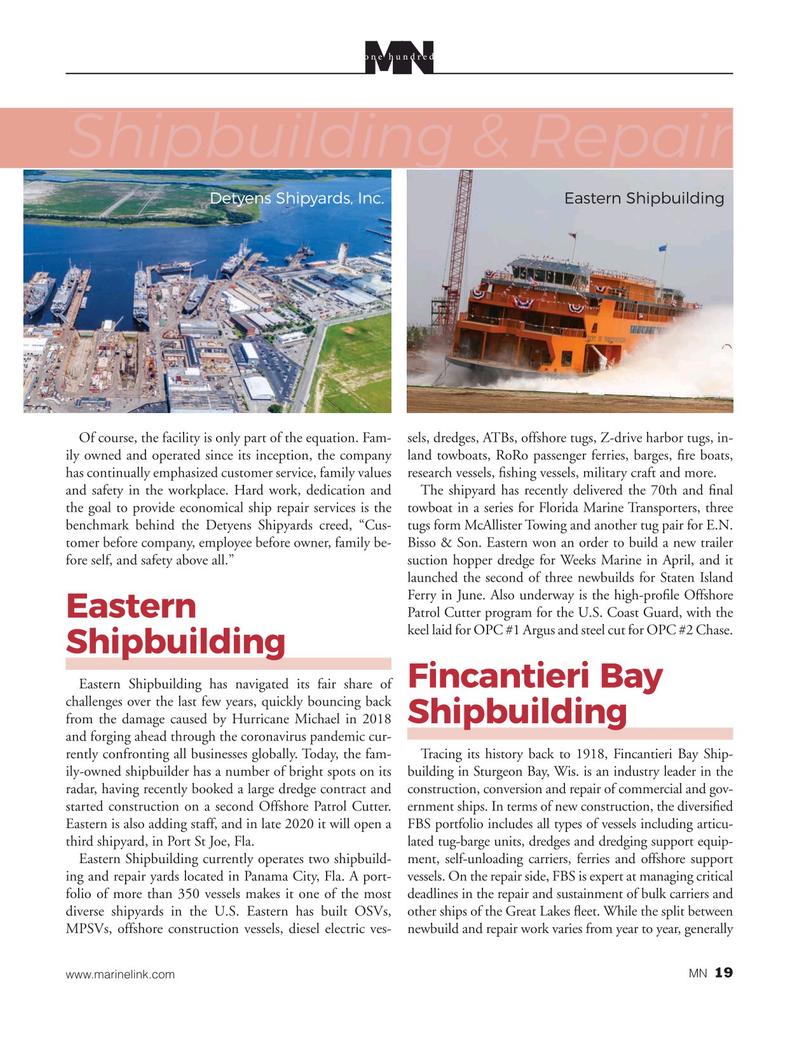 Marine News Magazine, page 19,  Aug 2020