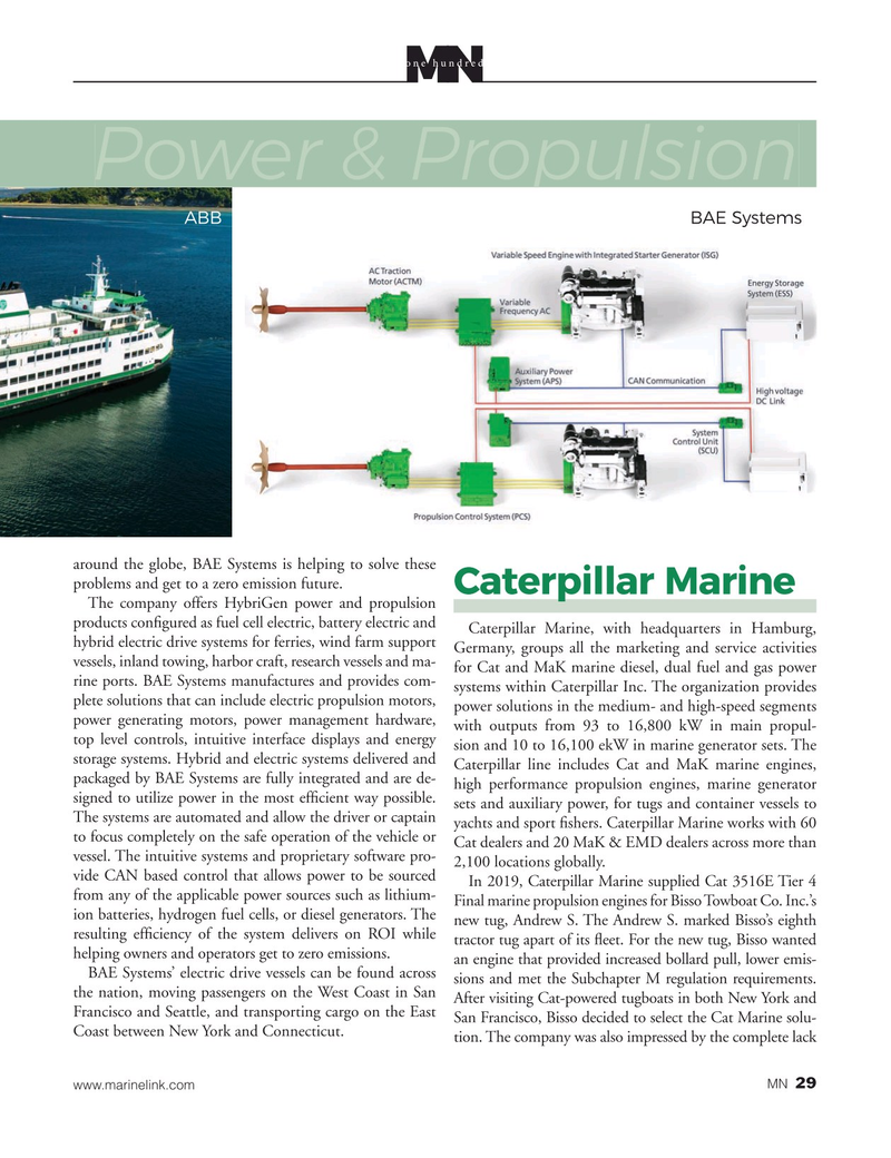 Marine News Magazine, page 29,  Aug 2020
