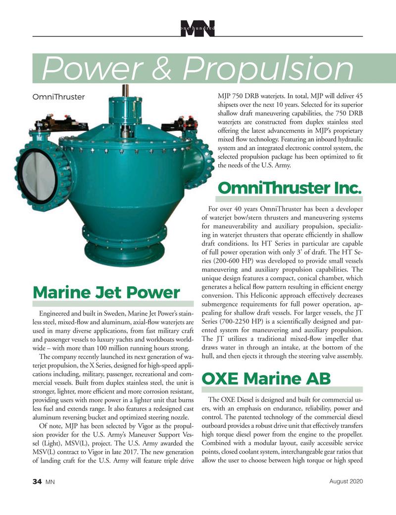 Marine News Magazine, page 34,  Aug 2020